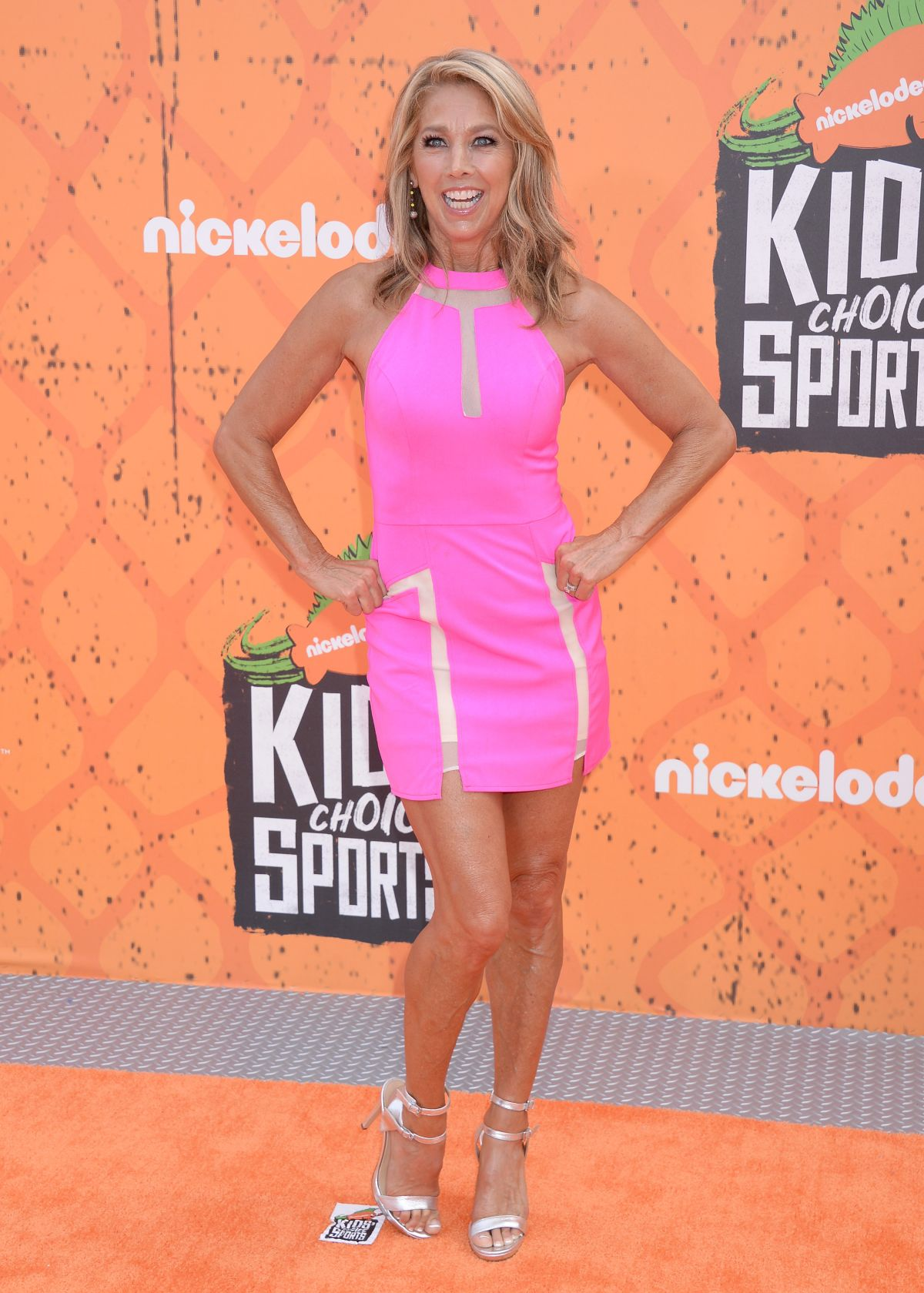 Denise Austin At Nickelodeon S Kids Choice Sports Awards