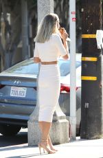 Genevieve Morton At Alfred Coffee & Kitchen in West Hollywood