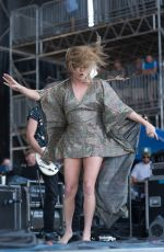 Grace Potter Performs during 2016 Bonnaroo Music Fest in Manchester, Tennessee