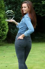 Jennifer Metcalfe At Rear of the Year