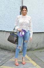 Jessica Wright Leaving the ITV Studios after appearing as a guest on the Loose Women show