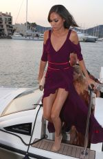 Joan Smalls At 3rd Annual Leonardo DiCaprio Foundation Gala in St. Tropez, France