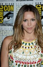 Katharine McPhee At CBS Television Studios press line at Comic-Con in San Diego