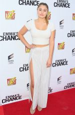 Lia Marie Johnson At Screening