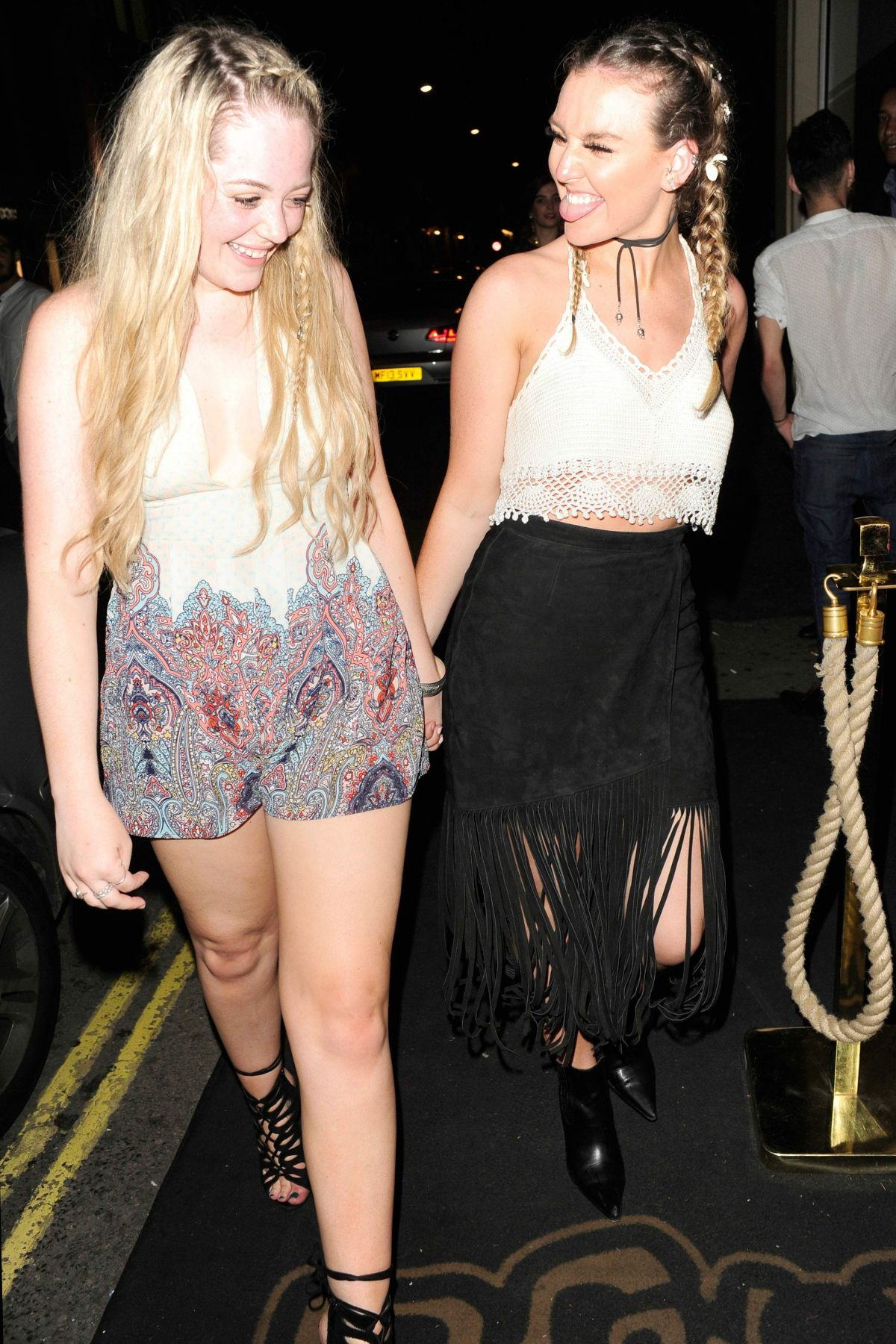 Perrie Edwards Night Out At Mahiki Club In London Celebzz