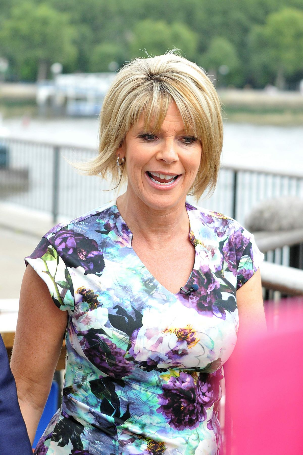 Ruth Langsford Seen On Londons Southbank For The This
