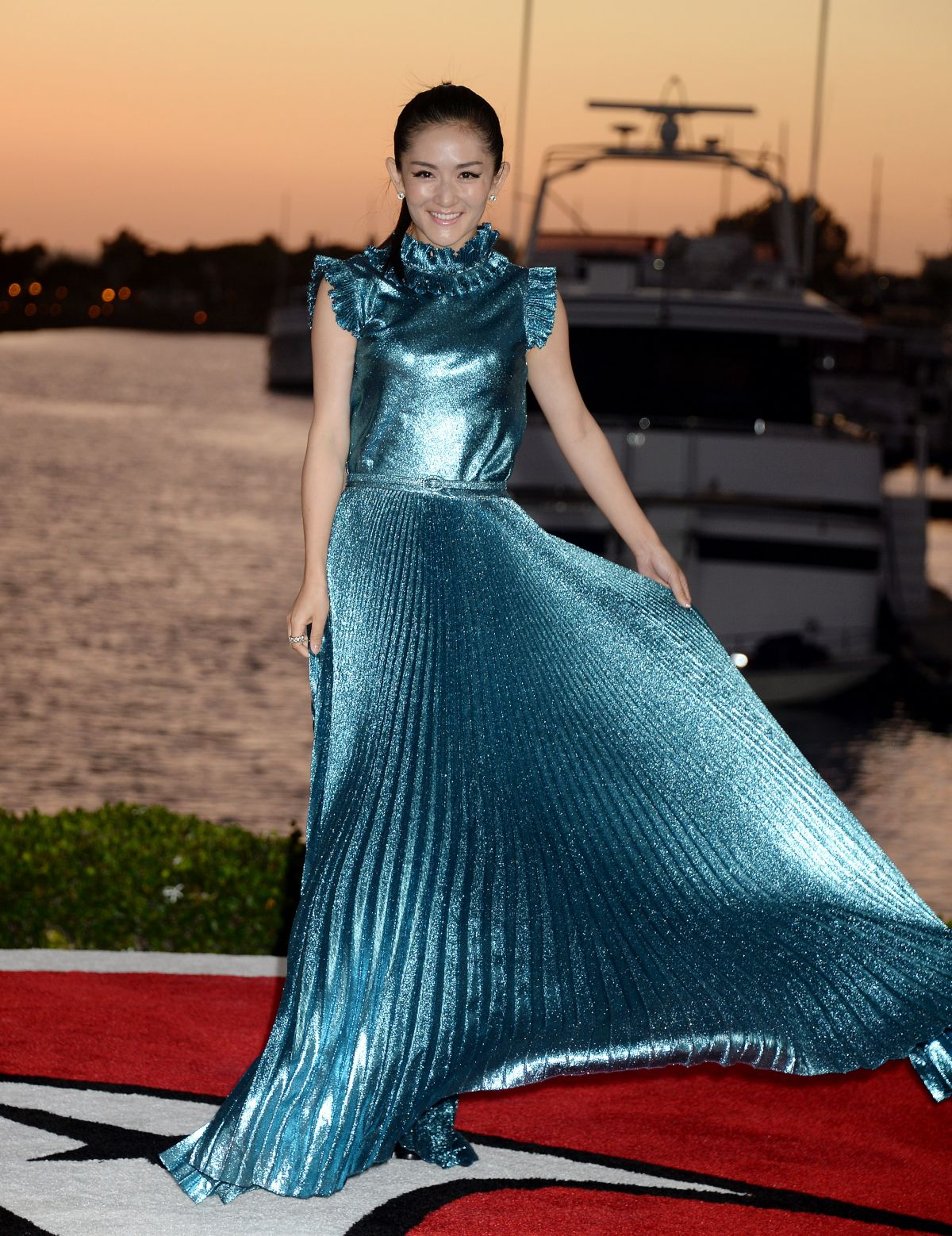 Xie Na At Premiere of Paramount Pictures