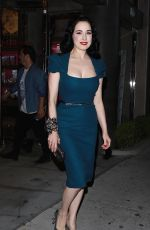 Dita Von Teese Arrives to film reality show in LA