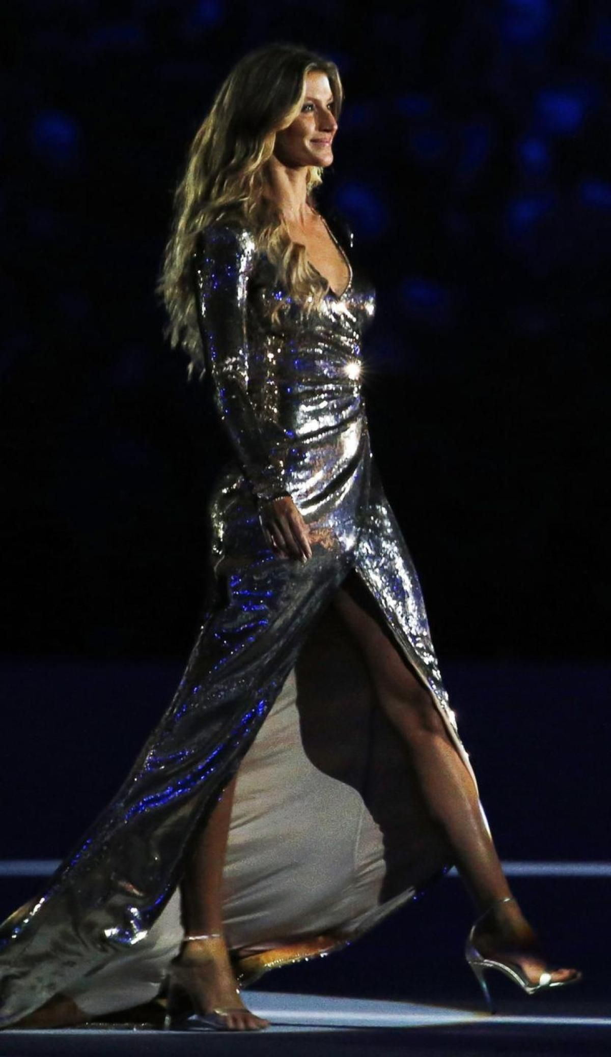 Gisele Bundchen At Opening Night Olympics Rio - Celebzz ...