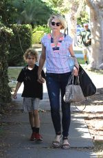 Jenna Elfman Out in West Hollywood