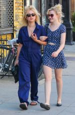 Juno Temple Out and about in NY