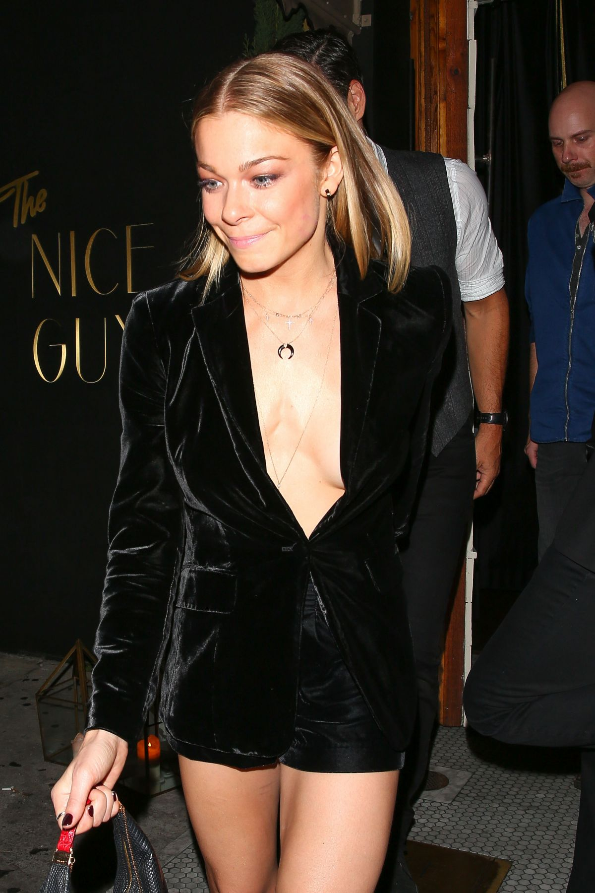 LeAnn Rimes Leaving The Nice Guy West Hollywood