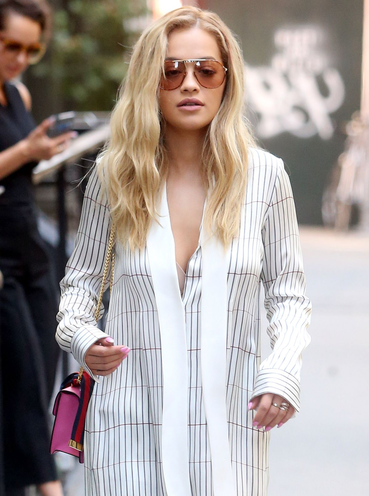 Rita Ora Seen out in Tribeca