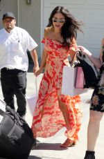 Shay Mitchell Outside the InStyle Gifting Suite in Brentwood