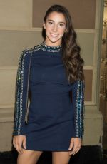 Aly Raisman At Sherri Hill Show, New York Fashion Week