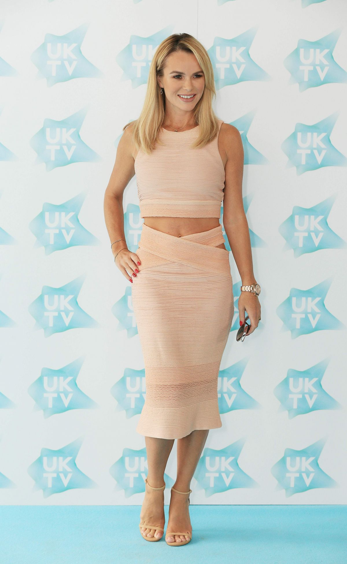 Amanda Holden At Uktv Live New Season Launch London