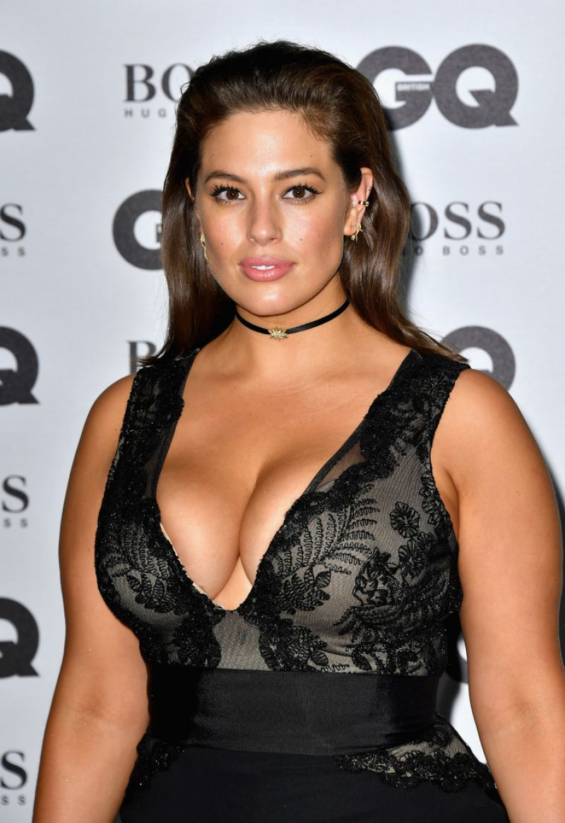 Ashley Graham At 2016 Gq Men Of The Year Awards In London