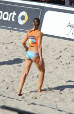 Chantal Laboureur At beach volleyball Timmendorfer beach