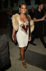 Christina Milian Arrives to The Blonds Fashion Show in New York