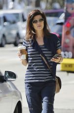 Daphne Zuniga Out in LA