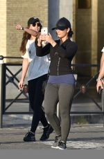 Demi Lovato Visits St. Peter Basilica and Fontana di Trevi in Rome
