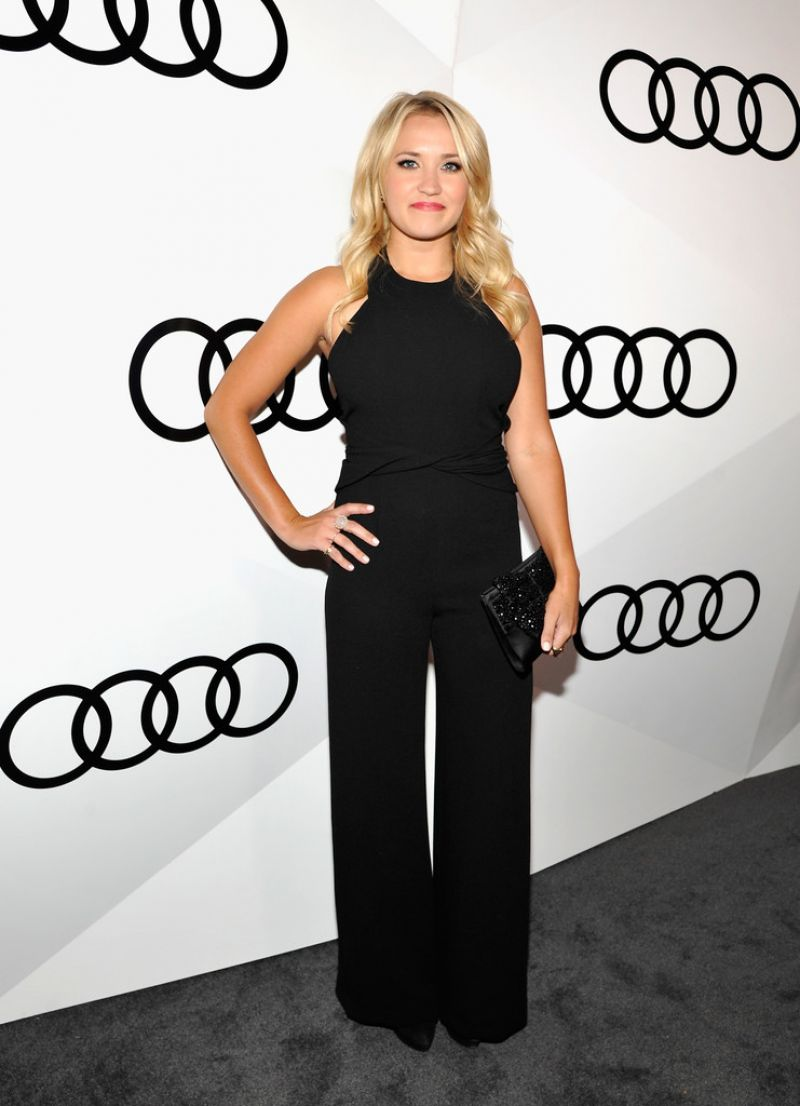 Emily Osment At Audi Celebrates The 68th Emmys In West