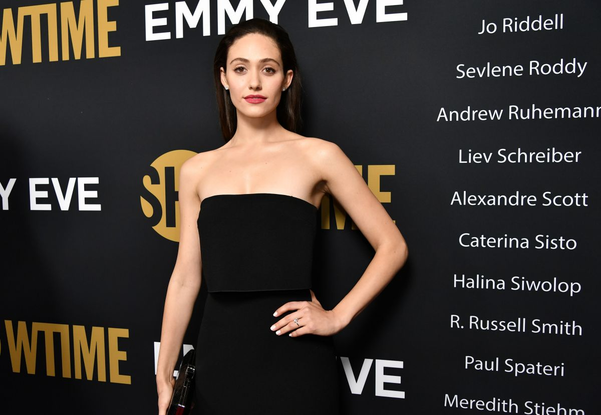 Emmy Rossum At Showtime Emmy Eve Party in Los Angeles ... Emmy Eve