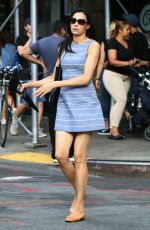 Famke Janssen Out and About in New York City