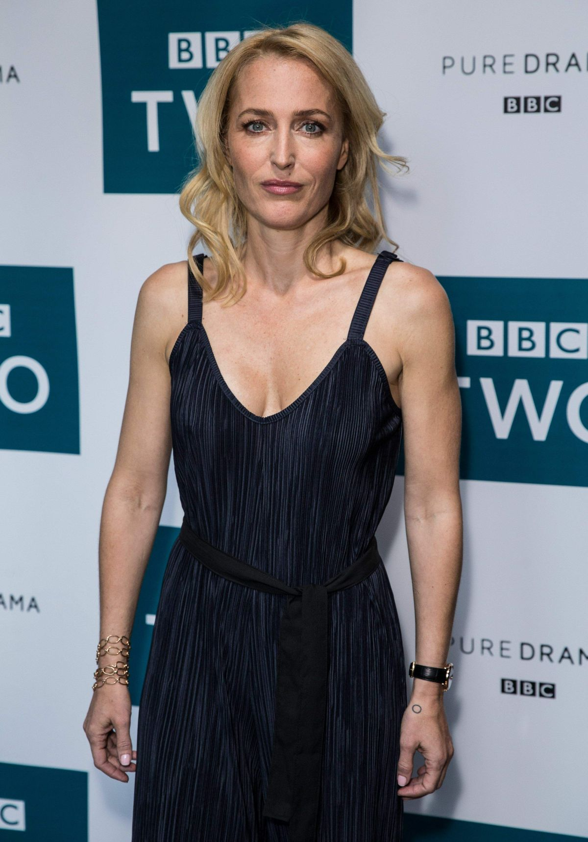 Gillian Anderson At 'The Fall' Series 3 photocall, London, UK - Celebzz