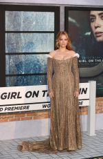 Haley Bennett At The Girl on the Train premiere in London