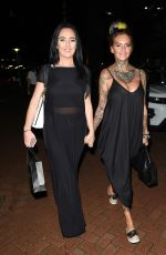 Jemma Lucy Seen at the Lowry Hotel in Manchester