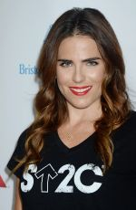 Karla Souza At 5th Biennial Stand Up To Cancer at Walt Disney Concert Hall in Los Angeles, CA