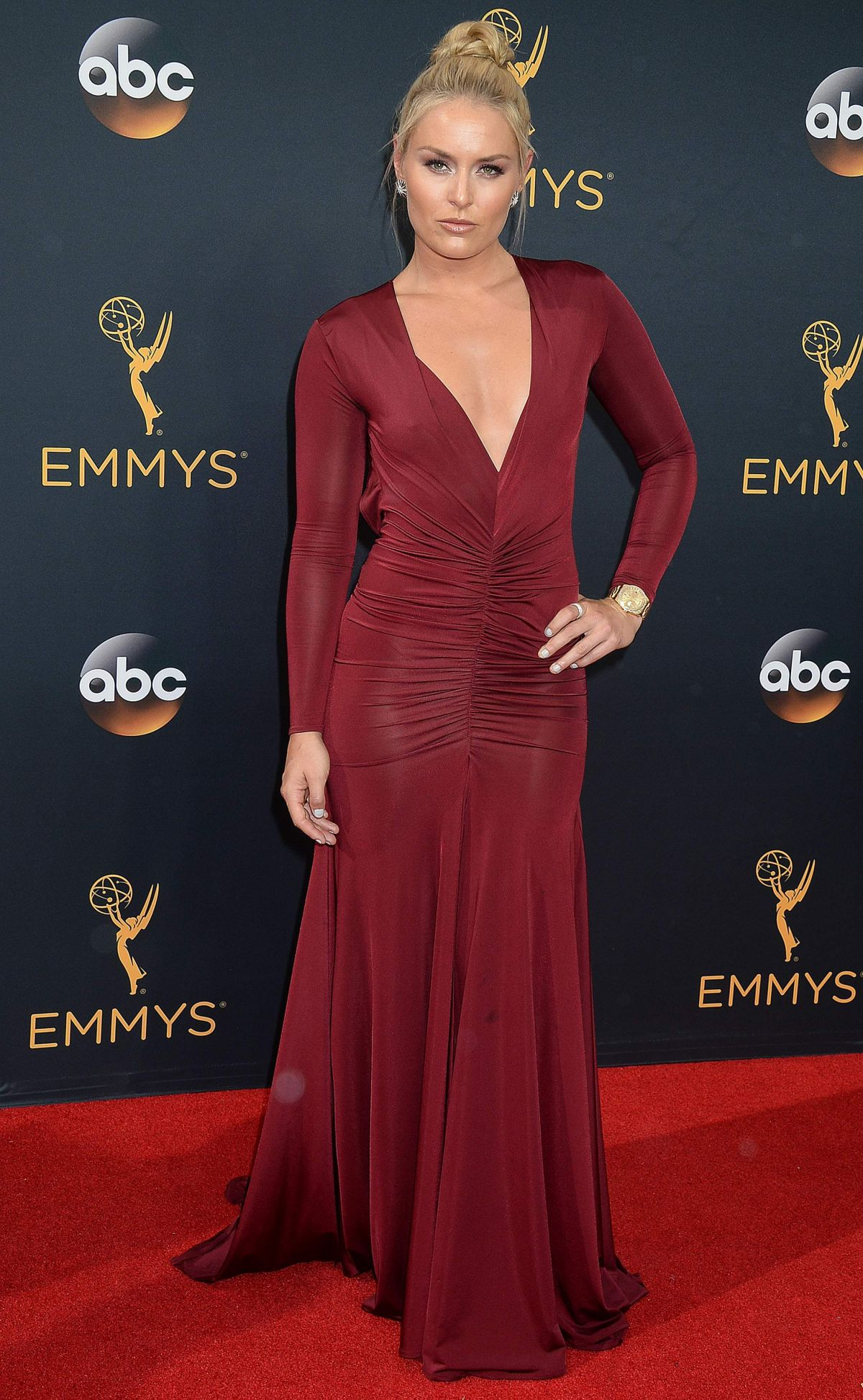 Lindsey Vonn At 68th Annual Primetime Emmy Awards in Los ...