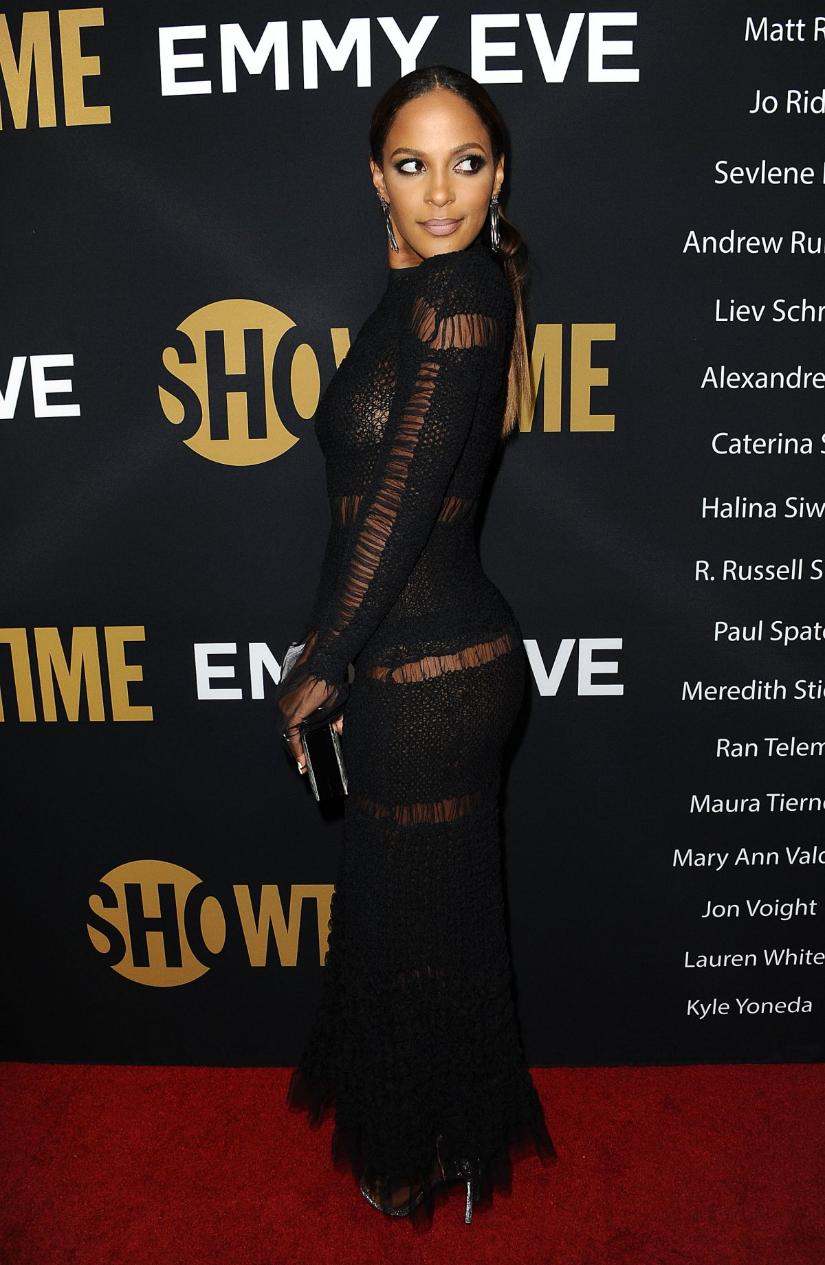 Megalyn Echikunwoke At Showtime Emmy Eve Party in Los ... Emmy Eve