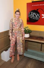 Miley Cyrus At World premiere of