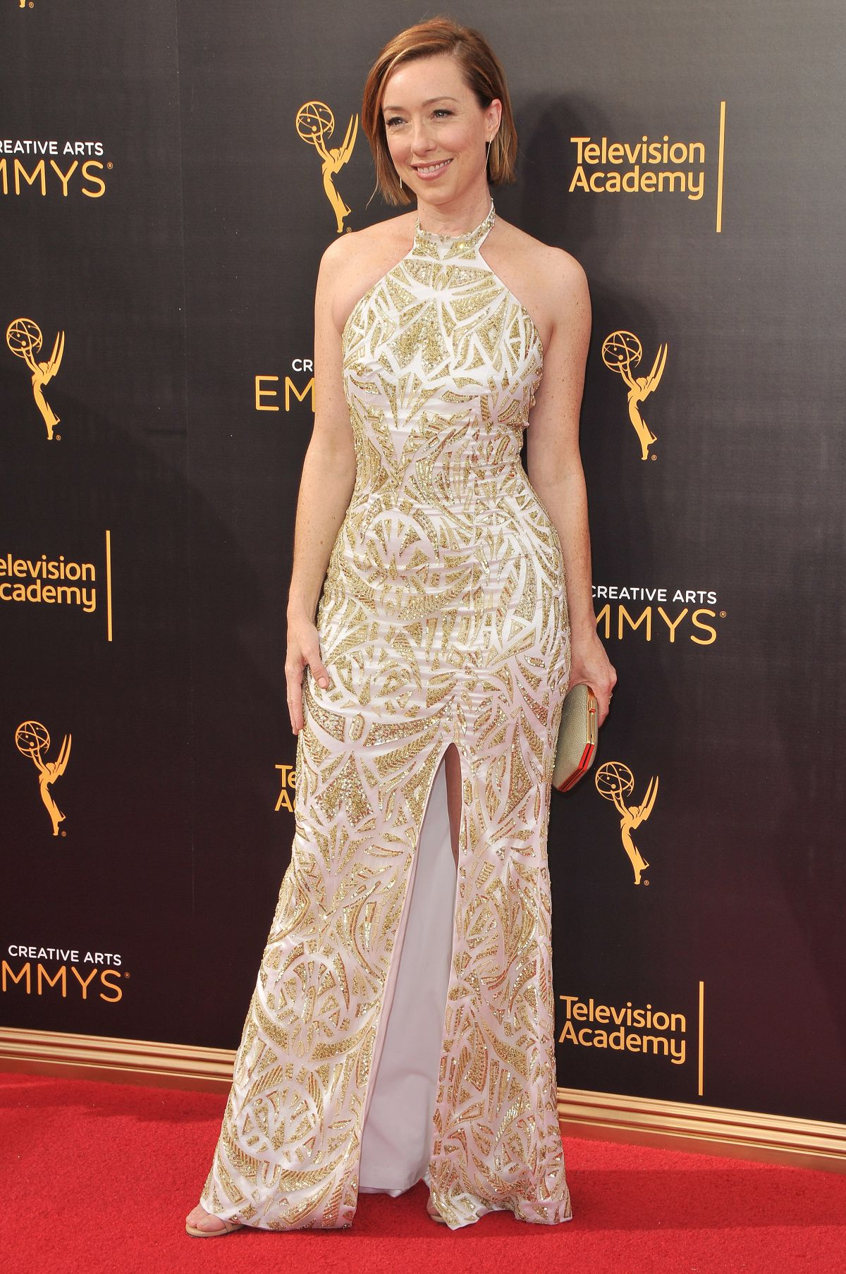 Molly Parker At Creative Arts Emmy's Awards, Los Angeles ... Emmys 2016