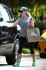 Reese Witherspoon After her workout after stopping by Kreation cafe Brentwood
