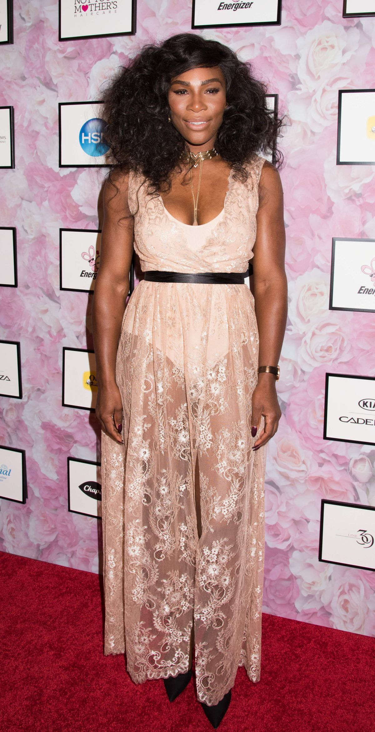 Serena Williams At Signature Statement Collection Fashion Show At Kia Style360 Ny Fashion Week