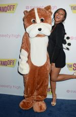 """Sydney Park At """"The Standoff"""" Premiere in Los Angeles"""