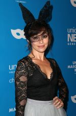 Autumn Reeser At UNICEF Masquerade Ball in Los Angeles