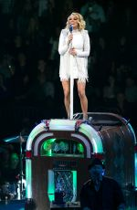 """Carrie Underwood Performs during """"The Storyteller Tour"""" at Madison Square Garden in New York City"""
