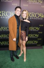 Emily Bett Rickards At celebration of 100th episode of