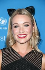 Katrina Bowden At 2016 UNICEF Masquerade Ball in Los Angeles