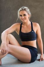 """Lindsey Vonn At """"strong is the new beautiful"""" book Photoshoot"""