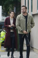 Lucy Watson Out In Fulham In London