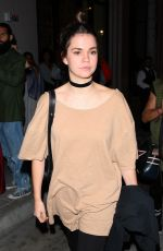 Maia Mitchell Dines at catch restaurant in West Hollywood