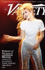 Miley Cyrus In variety magazine October 2016