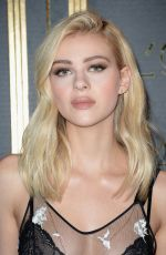 Nicola Peltz At gold obsession party during Paris Fashion Week