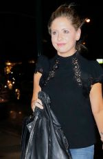 Sarah Michelle Gellar At night out in New York