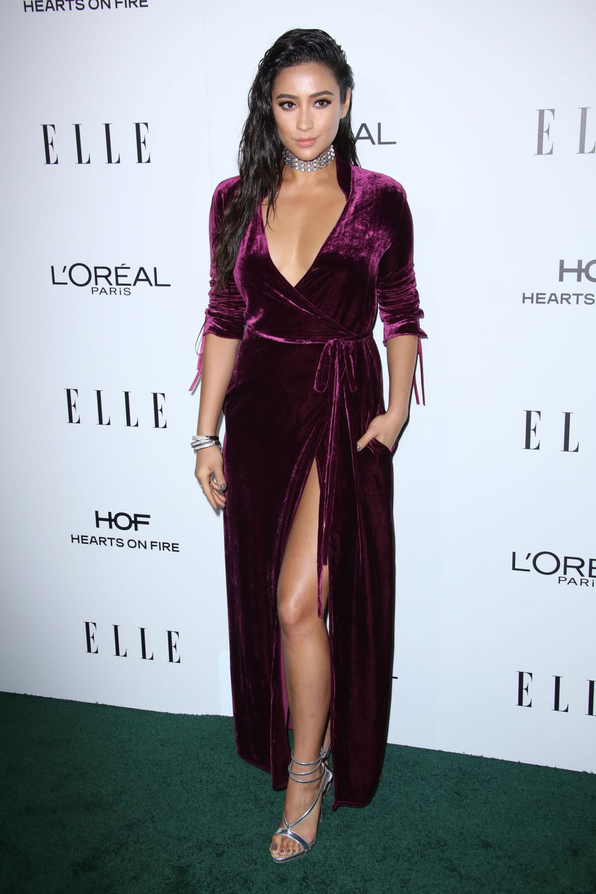 Shay Mitchell At 23rd Annual ELLE Women In Hollywood Awards in Los Angeles